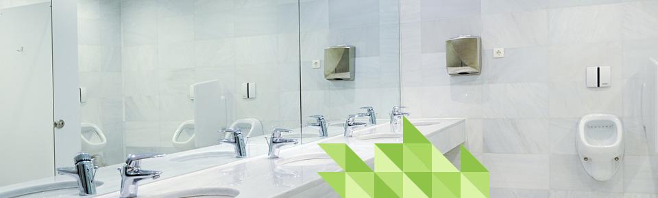 Schoonmaakbedrijf Amsterdam Boen Groen doet ook aan sanitaire reiniging van uw bedrijfspand!